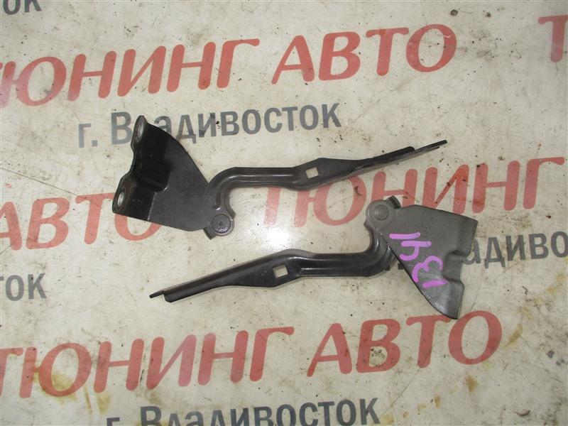 Петля капота Mazda Demio DE5FS ZY-VE 2008 черный a3f 1341