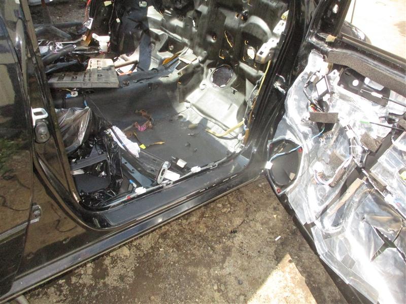 Порог кузова Toyota Corolla Fielder ZZE124 2ZZ-GE 2005 правый черное 209 1344