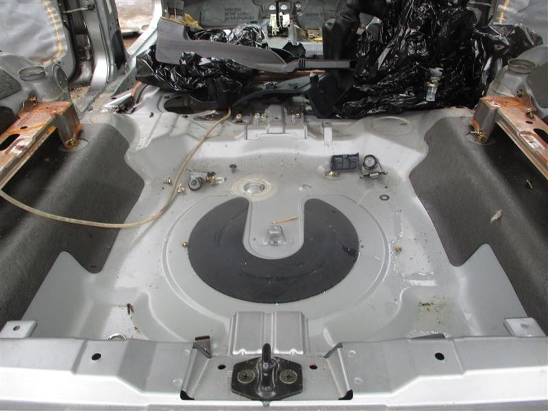 Тазик железный Honda Hr-V GH4 D16A 2000 серый nh617m 1346