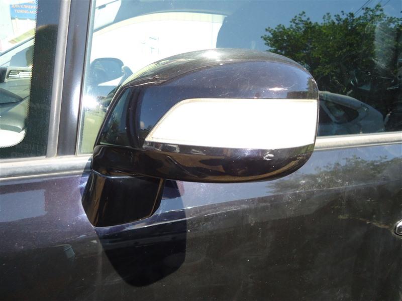 Зеркало Honda Stepwgn RG4 K24A 2007 левое 9 контактов черный pb81p 1349