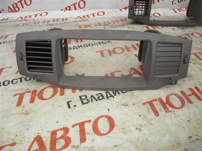 Консоль магнитофона Toyota Corolla Fielder ZZE123 2ZZ-GE 2005 1344/2