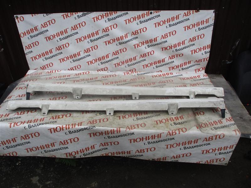 Порог Honda Fit GE8 L15A 2012 белый перламутр nh624p 1350