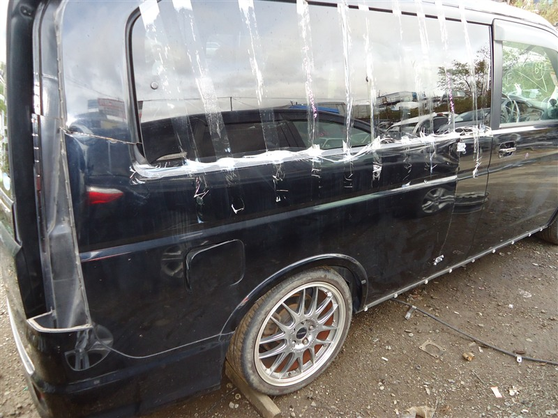 Крыло Honda Stepwgn RF3 K20A 2005 заднее правое черный b92p 1353