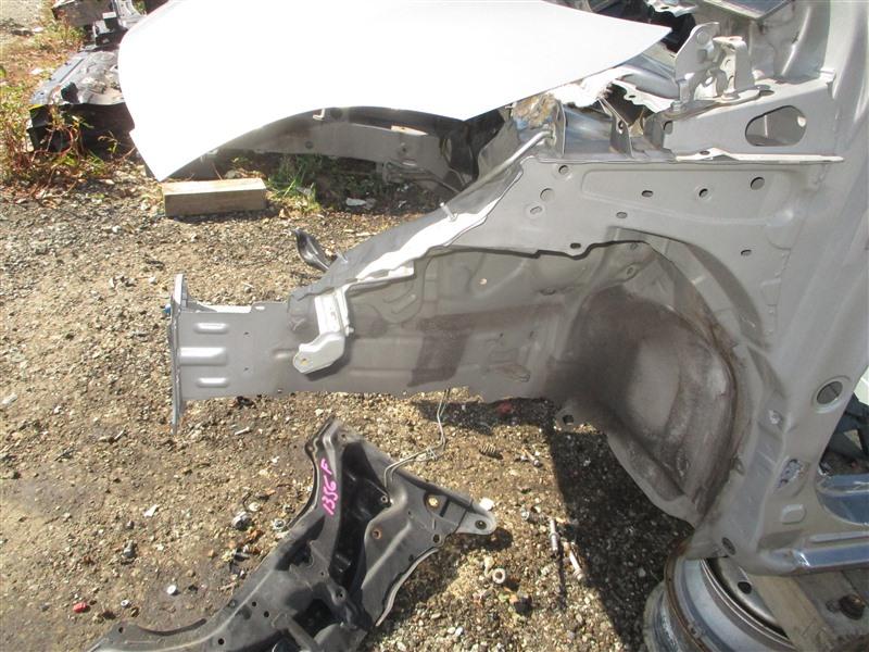 Лонжерон Toyota Vitz NCP91 1NZ-FE 2009 передний левый серый 1f8 1356