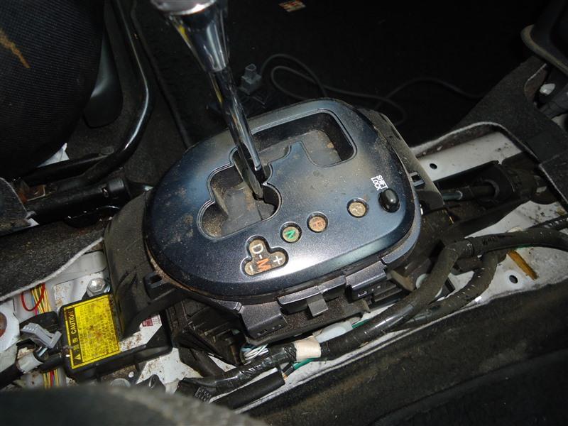 Селектор акпп Toyota Vitz NCP91 1NZ-FE 2009 1359