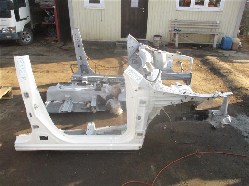 Лонжерон Mazda Cx-5 KE2AW SH-VPTS 2013 правый белый 34к 1342