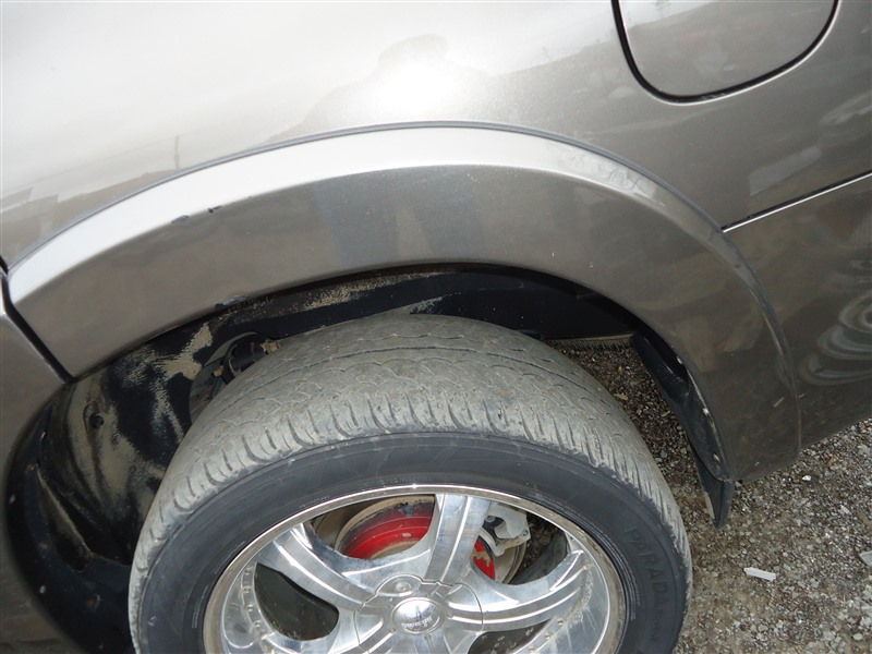 Накладка на крыло Toyota Sequoia USK65 3UR-FE 2009 задняя левая бронза 4t3 1364