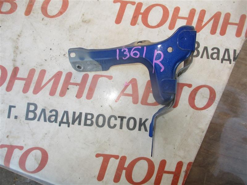 Крепление крыла Mazda Demio DE5FS ZY-VE 2008 переднее правое синий 34j 1361