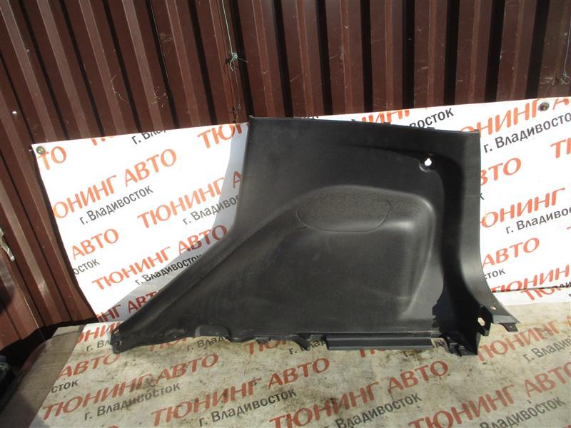 Обшивка багажника Mitsubishi Colt Z27A 4G15T 2009 1366