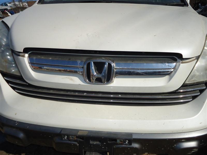 Решетка радиатора Honda Crv RE4 K24A 2008 белый nh624p 1372