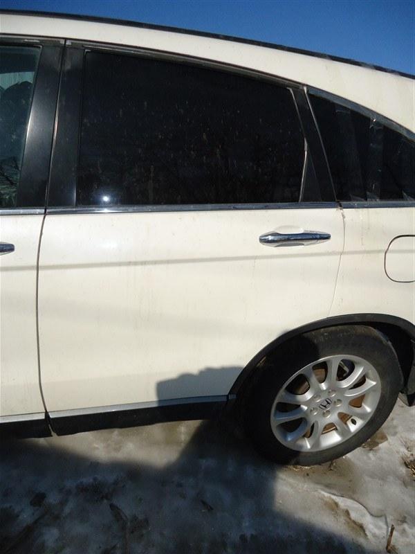 Дверь Honda Crv RE4 K24A 2008 задняя левая белый nh624p 1372