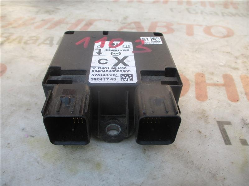 Блок srs Mazda Demio DY5W ZY-VE 2006 1103 d46157k30