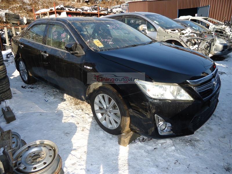 Бампер Toyota Camry AVV50 2AR-FXE 2013 передний черное 218 1378