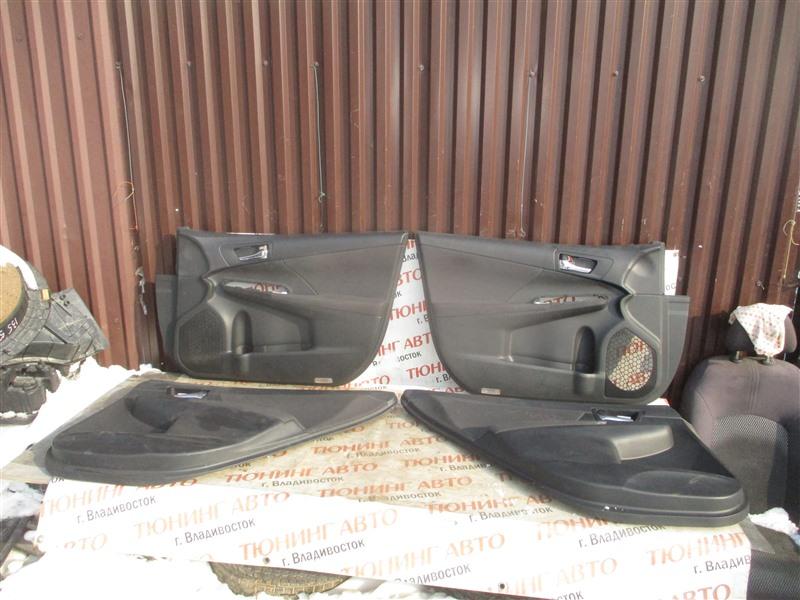 Обшивка дверей Toyota Camry AVV50 2AR-FXE 2013 1378