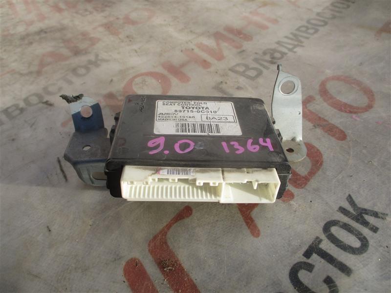 Электронный блок Toyota Sequoia USK65 3UR-FE 2009 1364 89715-0c010