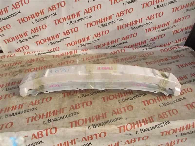 Жесткость бампера Toyota Aqua NHP10 1NZ-FXE 2012 передний белый 082 1369