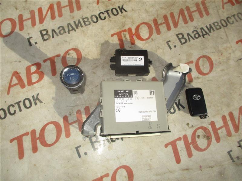 Замок зажигания Toyota Aqua NHP10 1NZ-FXE 2012 1369