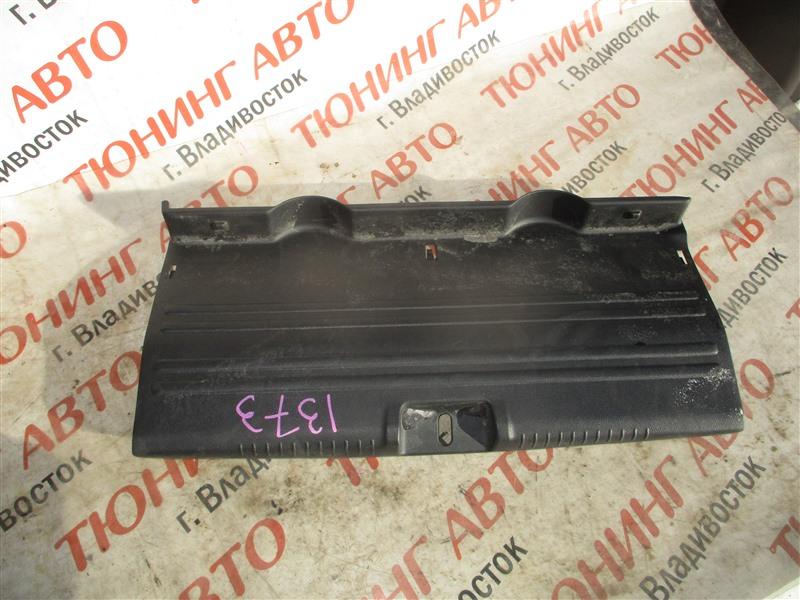 Накладка замка багажника Honda Fit Aria GD6 L15A 2006 1373
