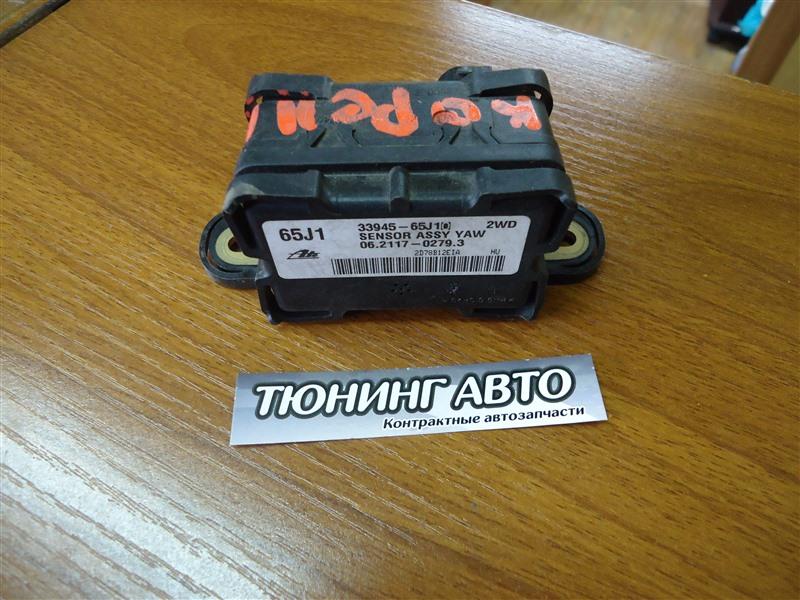 Датчик ускорения Suzuki Swift ZC31S M16A 2008 1156 33945-65j10