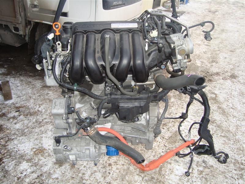 Двигатель Honda Fit GP5 LEB 2014 1374