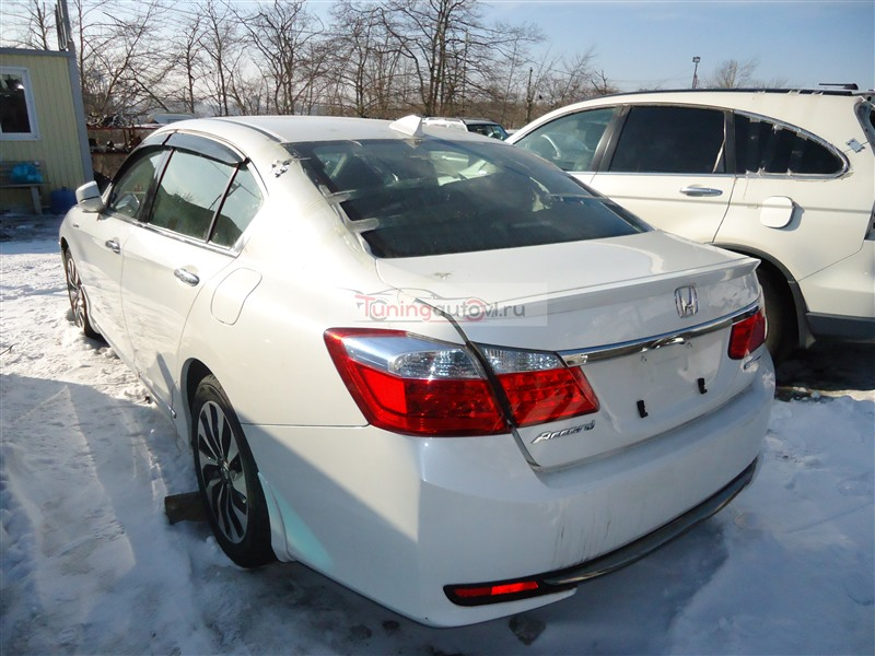 Rear cut Honda Accord CR6 LFA 2014 белый nh788p 1382