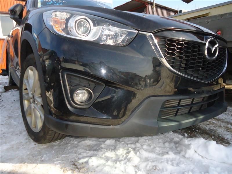 Бампер Mazda Cx-5 KE2AW SH-VPTS 2013 передний черный 16w 1383