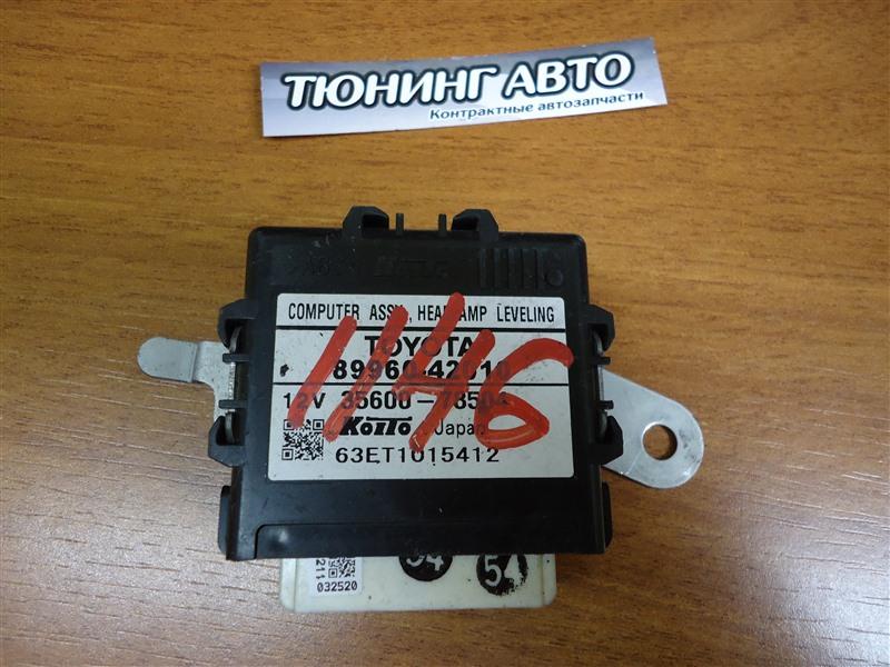 Электронный блок Toyota Rav4 ACA31 2AZ-FE 2009 1146