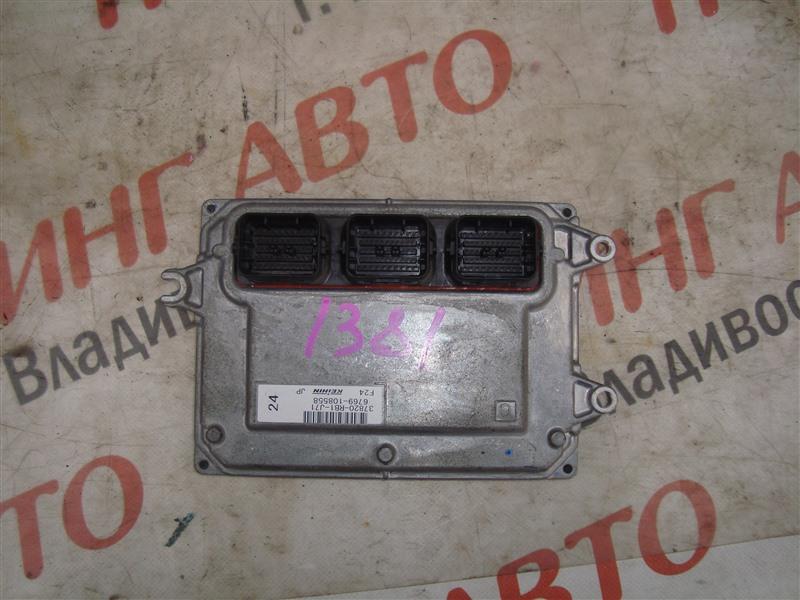 Блок управления efi Honda Fit GE8 L15A 2011 1381 37820-rb1-j71