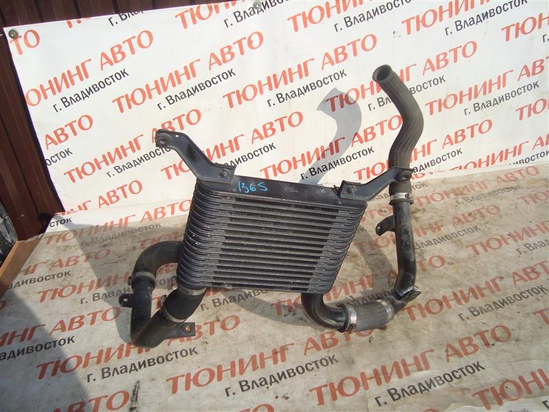 Радиатор интеркулера Mitsubishi Pajero Io H76W 4G93T 2004 1365