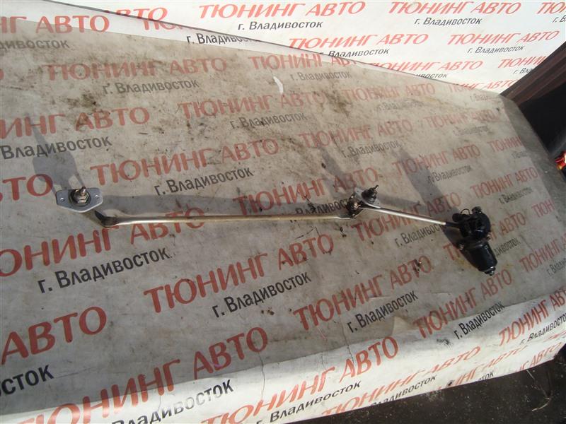 Мотор дворников Mitsubishi Pajero Io H76W 4G93T 2004 1365