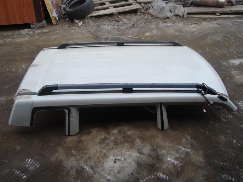Крыша Mitsubishi Pajero Io H76W 4G93T 2004 белый w23 1365