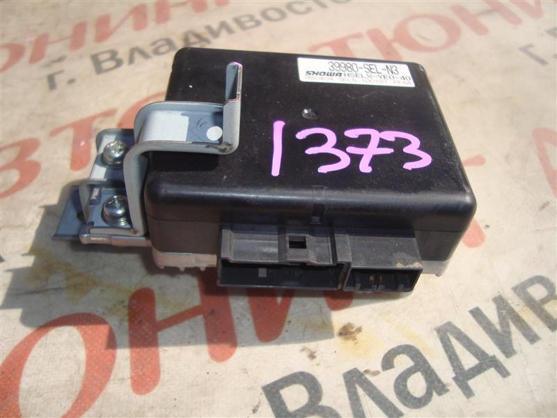 Блок управления рулевой рейкой Honda Fit Aria GD6 L15A 2006 1373 39980-sel-n3
