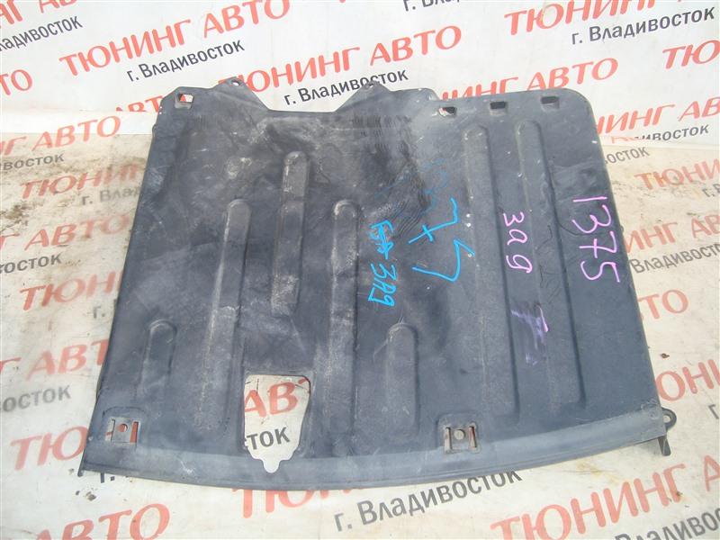 Защита бампера Honda Civic FD3 LDA 2009 задняя 1375