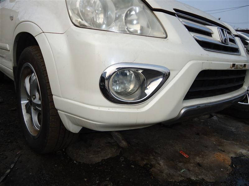 Бампер Honda Crv RD7 K24A 2005 передний белый nh624p 1387