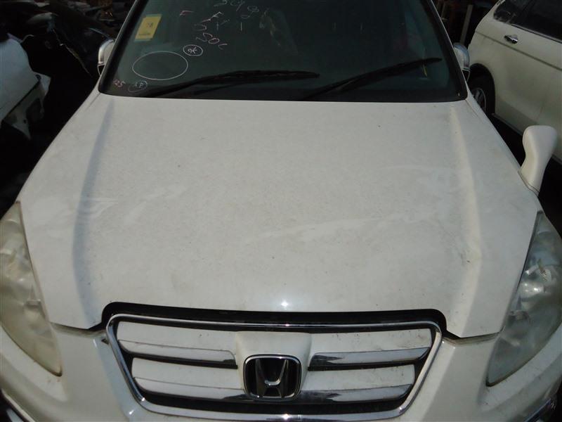 Капот Honda Crv RD7 K24A 2005 белый nh624p 1387