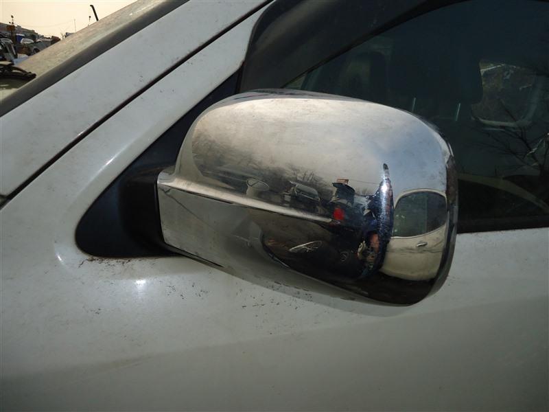 Зеркало Honda Crv RD7 K24A 2005 правое белый nh624p 1387