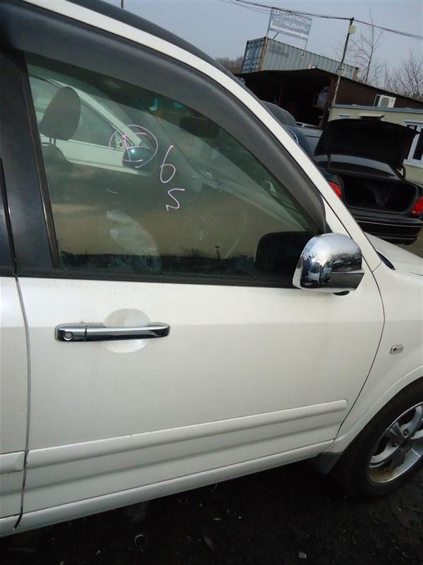 Дверь Honda Crv RD7 K24A 2005 передняя правая белый nh624p 1387