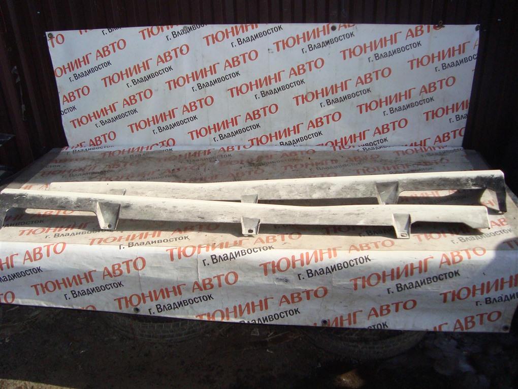 Порог Honda Fit GE8 L15A 2011 белый nh624p 1381