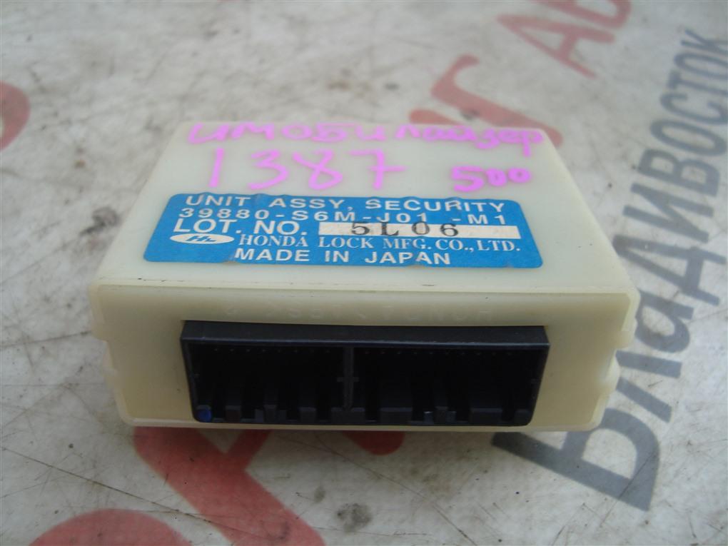 Блок иммобилайзера Honda Crv RD7 K24A 2005 1387 39880-s6m-j01-m1