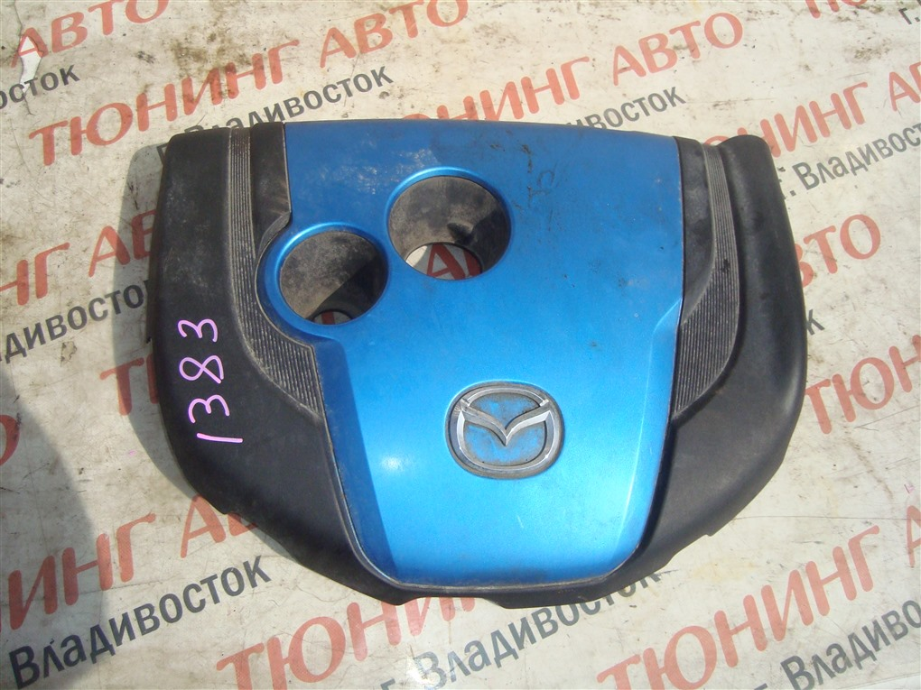 Пластиковая крышка на двс Mazda Cx-5 KE2AW SH-VPTS 2013 1383