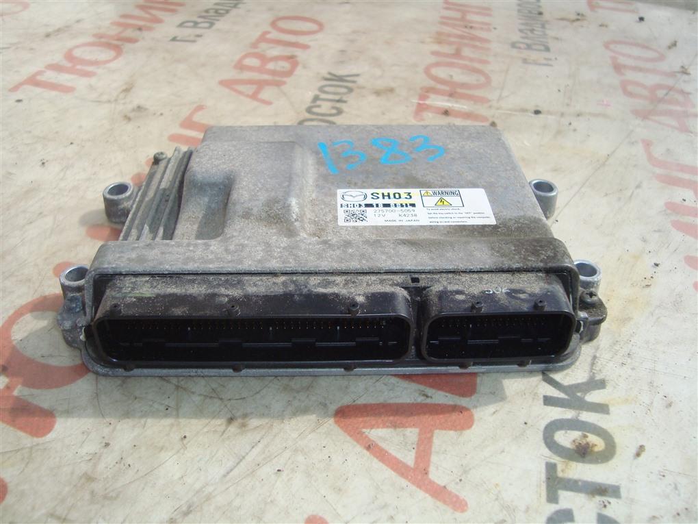 Блок управления efi Mazda Cx-5 KE2AW SH-VPTS 2013 1383 sh03 18 881l