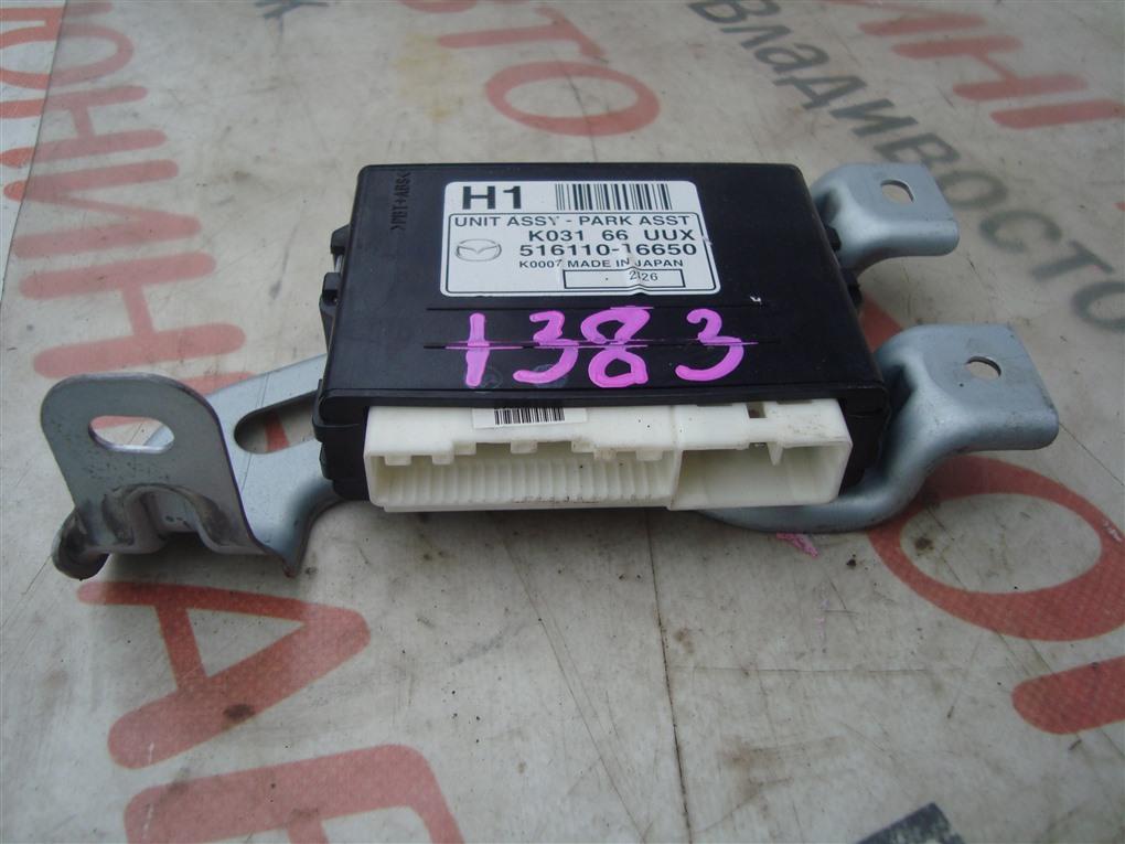 Блок управления парковкой Mazda Cx-5 KE2AW SH-VPTS 2013 k03166uux 1383