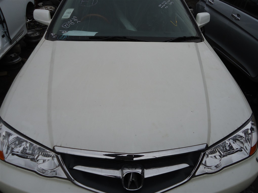 Капот Honda Inspire UA5 J32A 2003 белый nh603p 1390