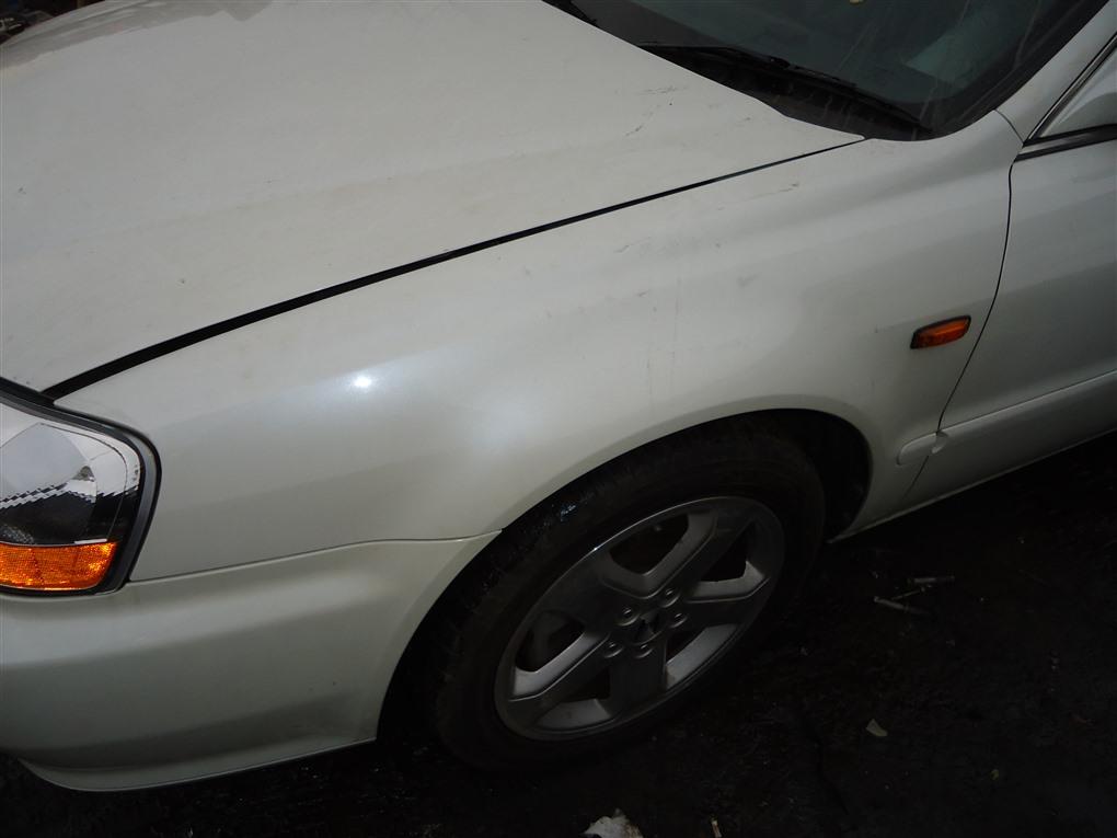 Крыло Honda Inspire UA5 J32A 2003 переднее левое белый nh603p 1390