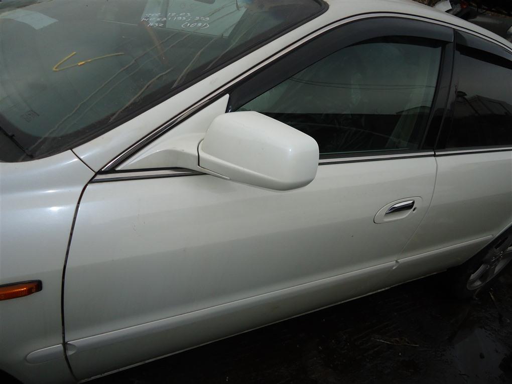 Дверь Honda Inspire UA5 J32A 2003 передняя левая белый nh603p 1390
