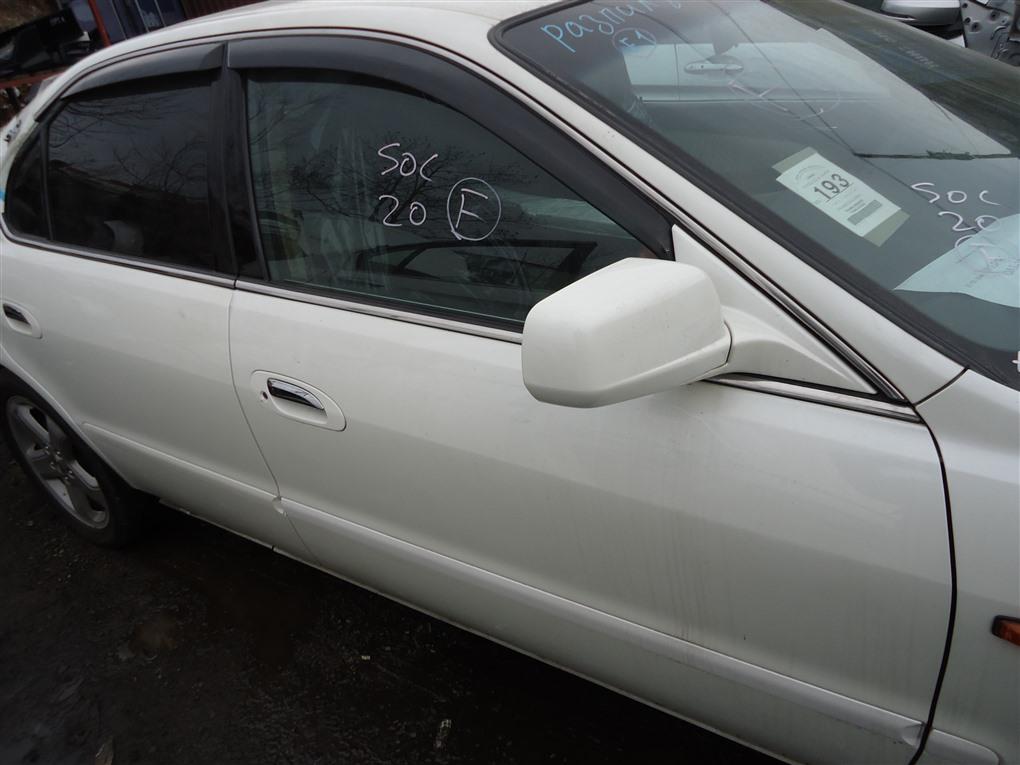 Дверь Honda Inspire UA5 J32A 2003 передняя правая белый nh603p 1390