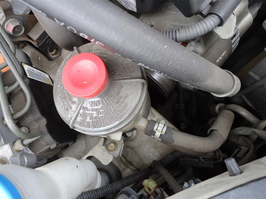 Бачок гидроусилителя Honda Inspire UA5 J32A 2003 1390