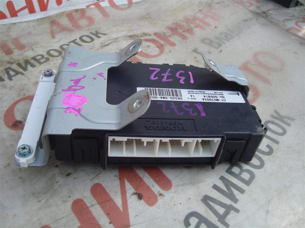 Электронный блок Honda Crv RE4 K24A 2008 1372 38320-swa-003