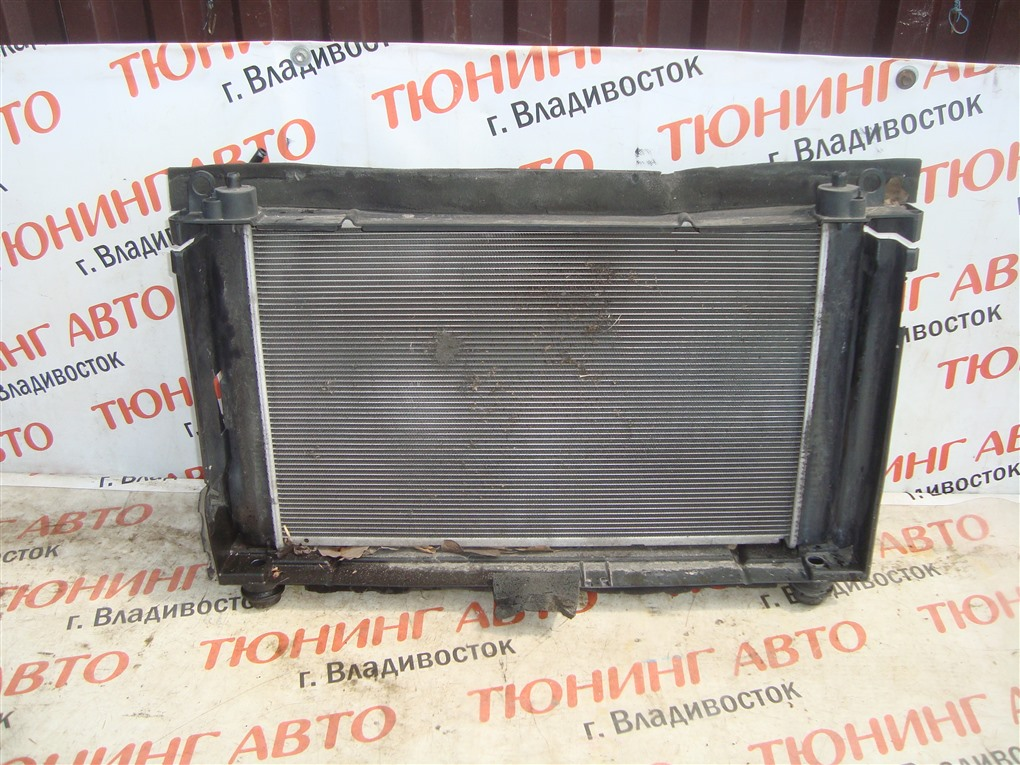 Радиатор основной Toyota Prius ZVW30 2ZR-FXE 2012 1388