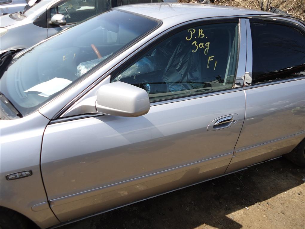 Дверь Honda Inspire UA5 J32A 2001 передняя левая серебро nh623m 1394